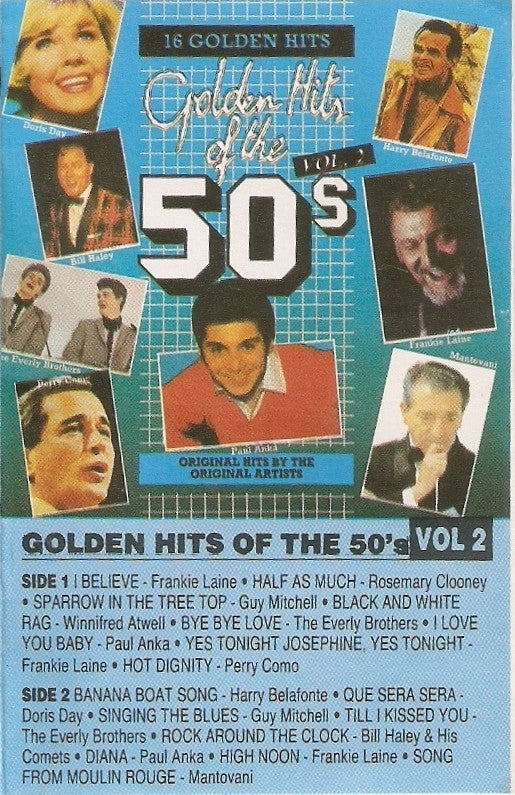 Golden Hits Of The 50's Vol.2