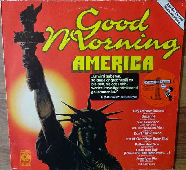 Good Morning America - Great Folk-Songs And Ballads