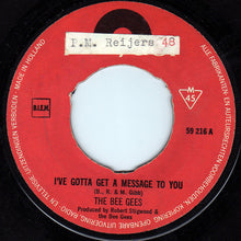 Bee Gees ‎– I've Gotta Get A Message To You / Kitty Can