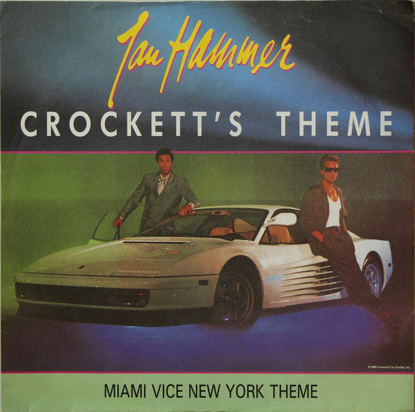 Jan Hammer ‎– Crockett's Theme