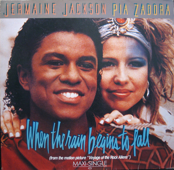 Jermaine Jackson & Pia Zadora ‎– When The Rain Begins To Fall