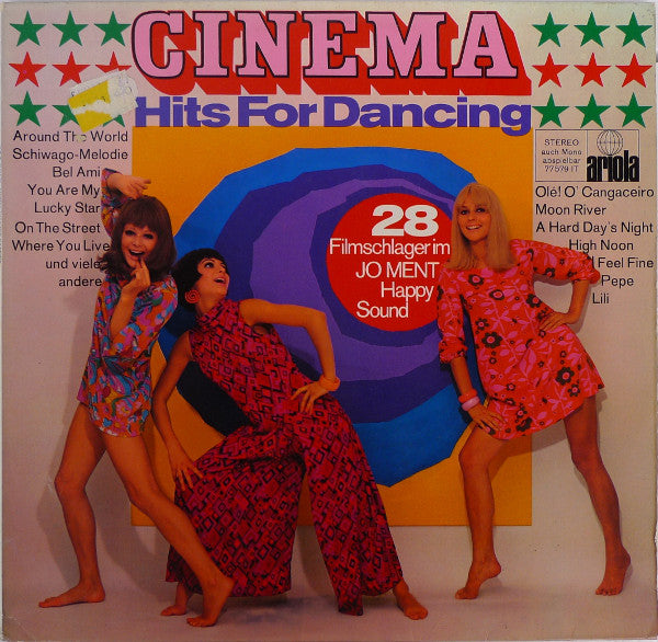 Jo Ment's Happy Sound ‎– Cinema-Hits For Dancing (28 Filmschlager Im Jo Ment Happy Sound)