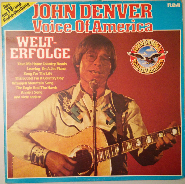 John Denver ‎– Voice Of America - Welterfolge