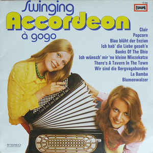 John Evans And His Group ‎– Swinging Accordeon A Gogo