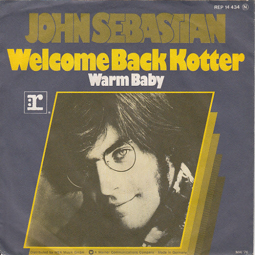 John Sebastian ‎– Welcome Back Kotter