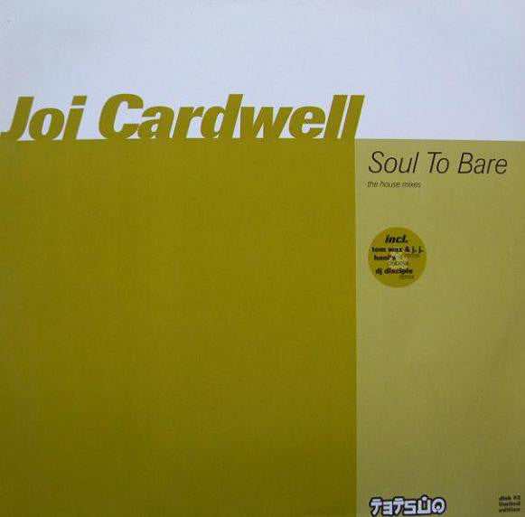 Joi Cardwell ‎– Soul To Bare