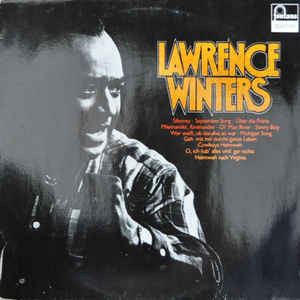Lawrence Winters ‎– Lawrence Winters