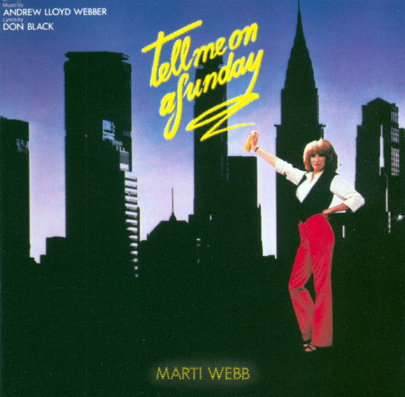Marti Webb ‎– Tell Me On A Sunday