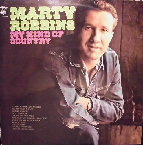 Marty Robbins ‎– My Kind Of Country