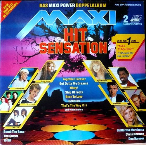 Maxi Hit Sensation - Das Maxi Power Doppelalbum