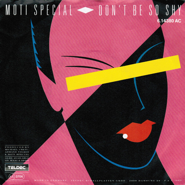 Moti Special ‎– Don't Be So Shy
