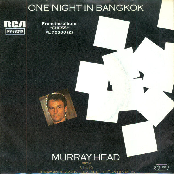Murray Head ‎– One Night In Bangkok