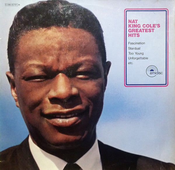 Nat King Cole ‎– Nat King Cole's Greatest Hits