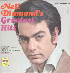 Neil Diamond ‎– Neil Diamond's Greatest Hits