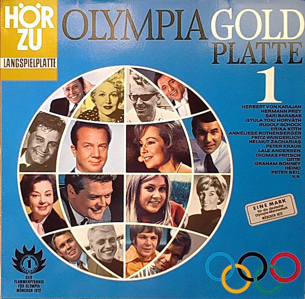 Olympia Gold Platte 1