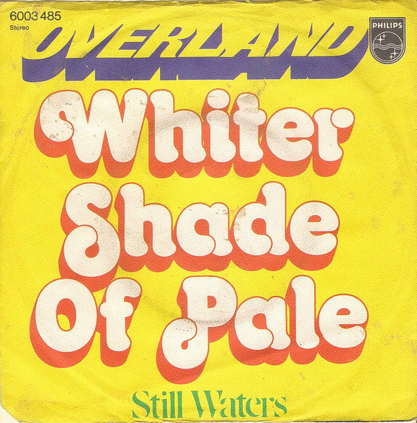 Overland (10) ‎– Whiter Shade Of Pale