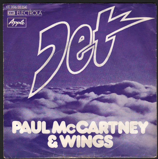 Paul McCartney & Wings* ‎– Jet