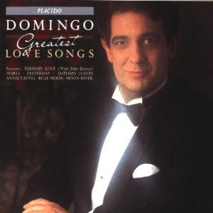 Placido Domingo ‎– Greatest Love Songs