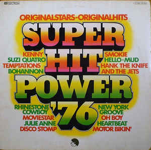 Various ‎– Super Hit Power '76