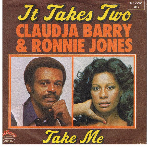 Claudja Barry & Ronnie Jones ‎– It Takes Two / Take Me