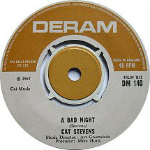 Cat Stevens ‎– A Bad Night