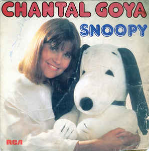 Chantal Goya ‎– Snoopy