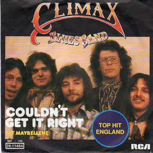 Climax Blues Band ‎– Couldn't Get It Right