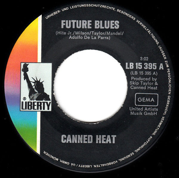 Canned Heat ‎– Future Blues / The Skat