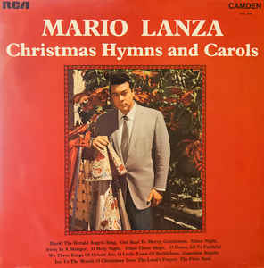 Mario Lanza ‎– Christmas Hymns And Carols