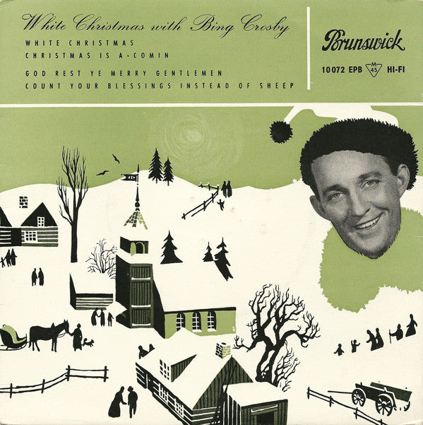 Bing Crosby ‎– White Christmas With Bing Crosby