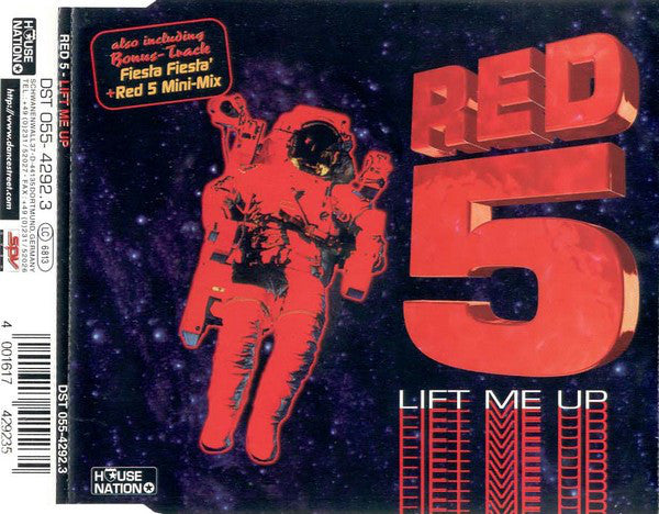 Red 5 ‎– Lift Me Up (119)