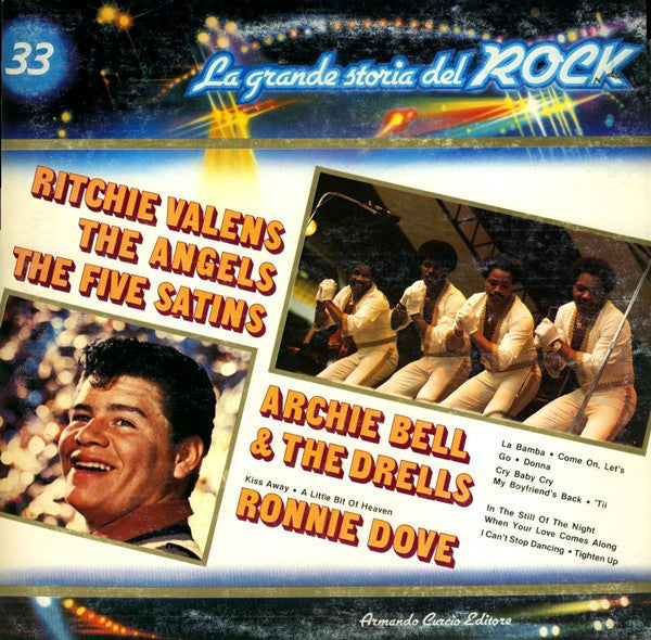 Ritchie Valens / The Angels (3) / The Five Satins / Archie Bell & The Drells / Ronnie Dove ‎– Ritchie Valens / The Angels / The Five Satins / Archie Bell & The Drells / Ronnie Dove