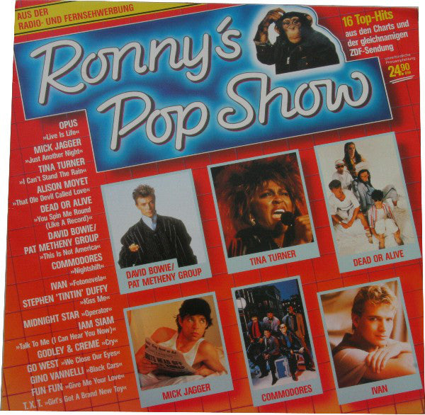 Ronny's Pop Show - 16 Tophits