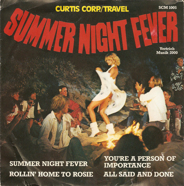 Curtis Corp.*, Travel (4) ‎– Summer Night Fever