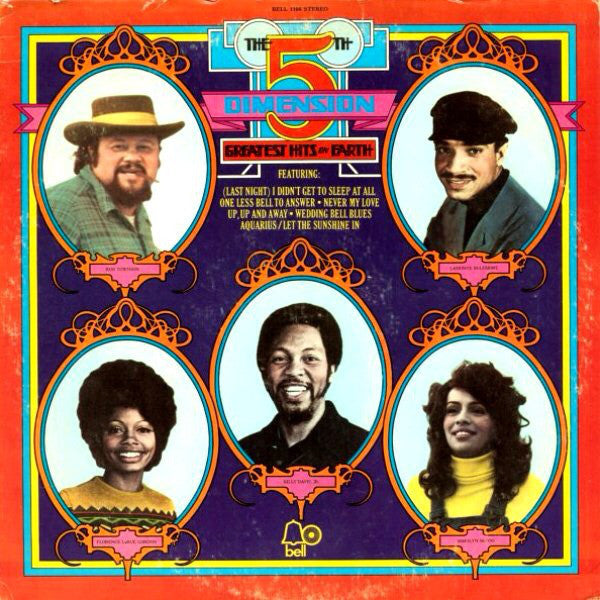 The 5th Dimension* ‎– Greatest Hits On Earth