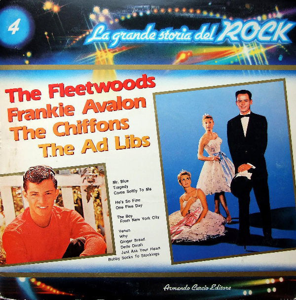 The Fleetwoods / Frankie Avalon / The Chiffons / The Ad Libs ‎– The Fleetwoods / Frankie Avalon / The Chiffons / The Ad Libs