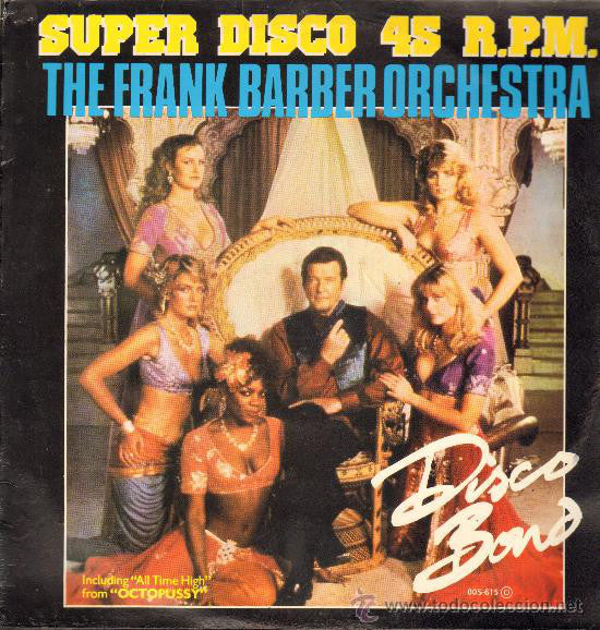 The Frank Barber Orchestra ‎– Disco Bond