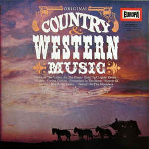 The Nashville Gamblers - The Westward Wanderers ‎– Original Country & Western Music