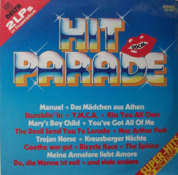 Unknown Artist ‎– Hit Parade, Vocal