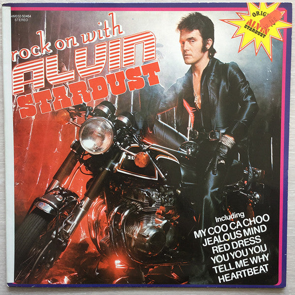 Alvin Stardust ‎– Rock On With Alvin