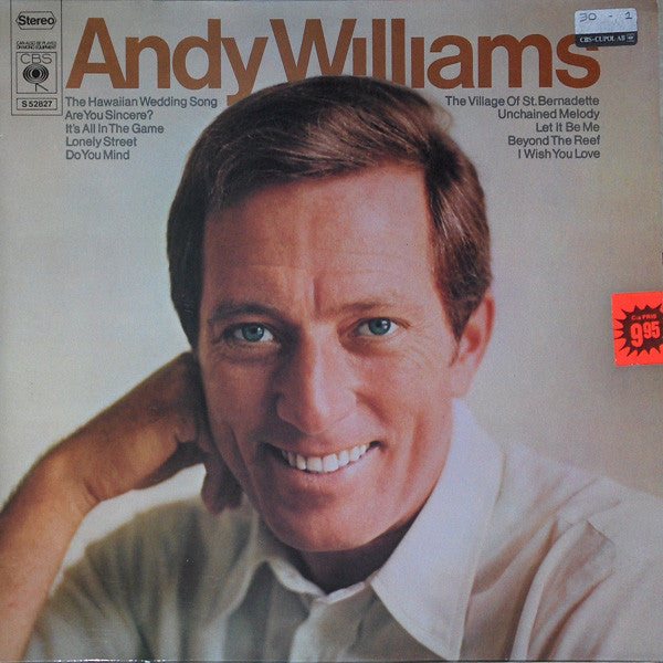 Andy Williams ‎– Andy Williams