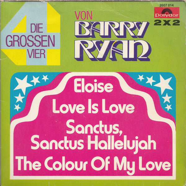 Barry Ryan ‎– Die Grossen Vier ( 2x single )