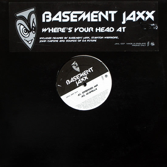 Basement Jaxx ‎– Where's Your Head At 2MS
