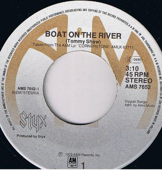 Styx ‎– Boat On The River