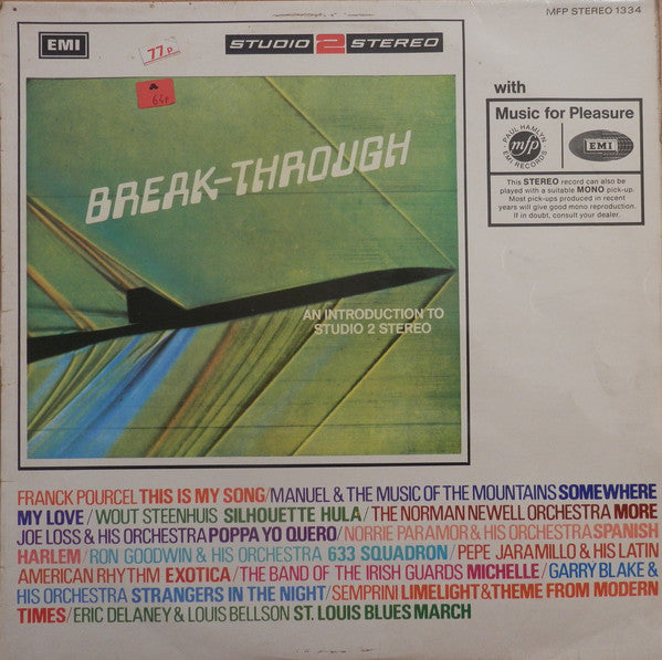 Various ‎– Break-Through - An Introduction To Studio 2 Stereo
