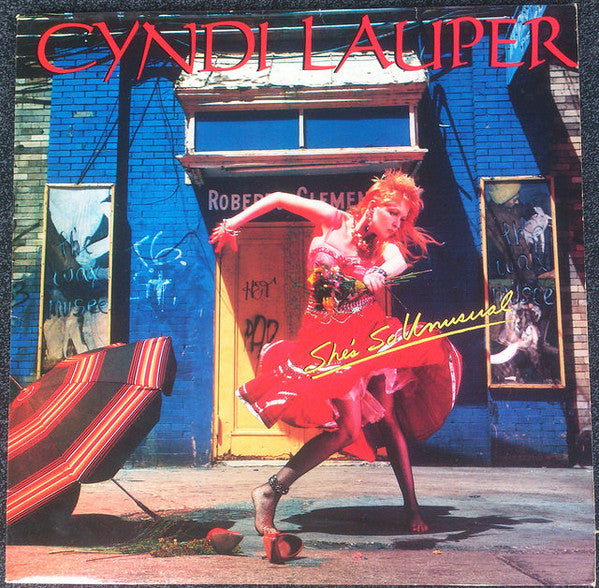 Cyndi Lauper ‎– She's So Unusual