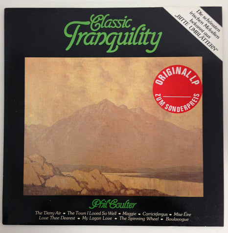 Phil Coulter ‎– Classic Tranquility