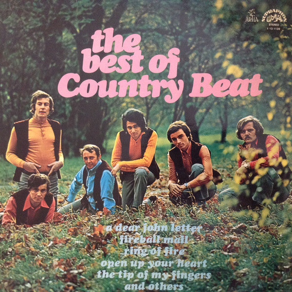 Jiří Brabec & His Country Beat* ‎– The Best Of Country Beat