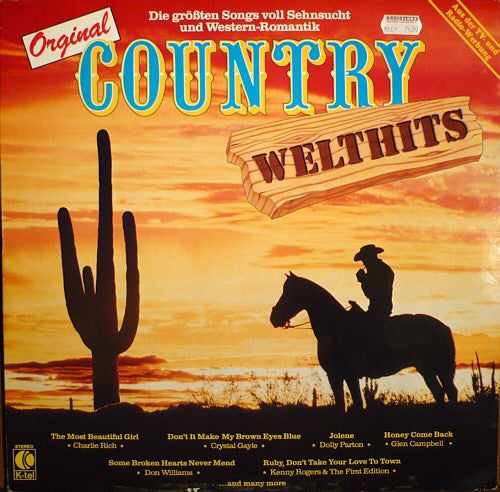 Various ‎– Original Country Welthits