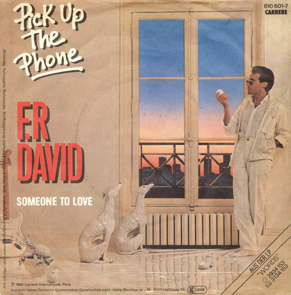 F.R David* ‎– Pick Up The Phone